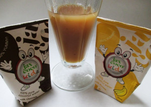 Jax Coco 100% Coconut Water for Kids, Banana and Chocolate Tetra Packs, www.goodfoodgourmet.com
