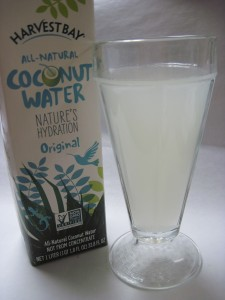 Harvest bay coconut water