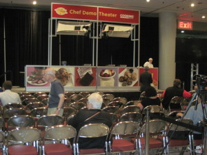Chef Demo Theater, Summer Fancy Food Show, 2013