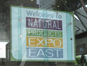 Natural Products Expo East, 2013