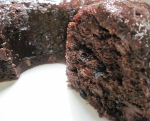 Dark Chocolate Fruit Cake