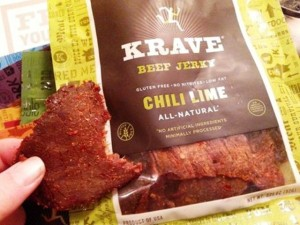 Krave Chili Lime Beef Jerky, Summer Fancy Food Show 2014, www.goodfoodgourmet.com