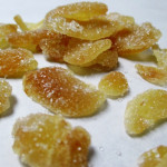 How To Make Crystallized Ginger, www.goodfoodgourmet.com