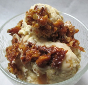 Cinnamon Honey Walnut Semifreddo With Honey Toffee Swirls, www.goodfoodgourmet.com
