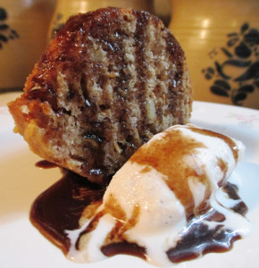 Father's Day Apple Cake With Honey Balsamic Toffee Sauce, www.goodfoodgourmet.com