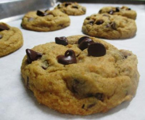 Eggless Pumpkin Chocolate Chip Cookies, www.goodfoodgourmet.com